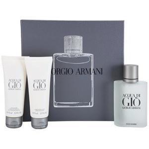 Giorgio Armani Acqua di Gio Pour Homme Woda toaletowa 100ml + Żel pod  prysznic 75 ml + balsam po goleniu 75ml ZESTAW 4b97c4fd81b0